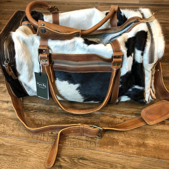 Myra Bag Bags Cowhide Leather Duffel Bag Myra Bag Poshmark Shop for overnight bags at mydeal for discounts, bargains and offers. cowhide leather duffel bag myra bag